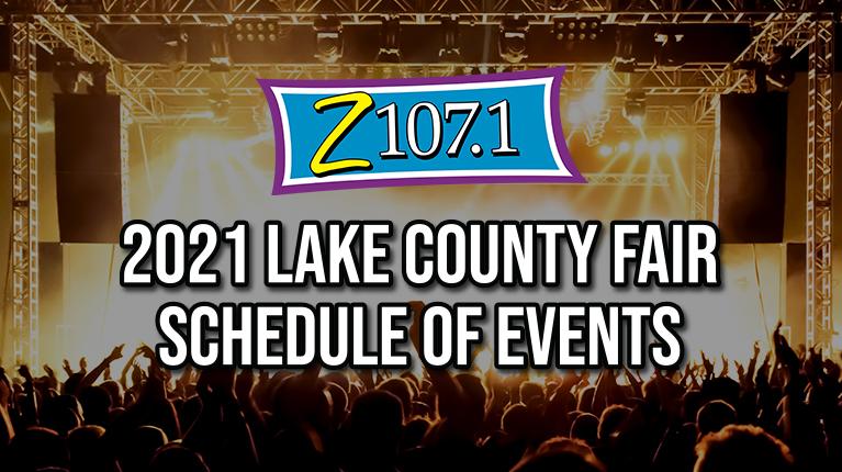 2021 Adams Radio Group Lake County Fair Schedule